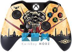Custom Fallout Nuke Xbox One Controller #fallout #fallout4 #customcontroller #xboxone #xboxonecontroller #kwikboymodz