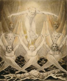 william blake's 'david delivered out of many waters' 1805