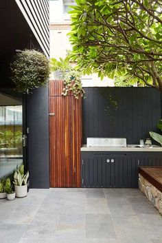 """Outstanding """"outdoor kitchen designs layout patio"""" information is readily available on our internet site. Take a look and you wont be sorry you did. Outdoor Rooms, Outdoor Gardens, Outdoor Living, Outdoor Decor, Outdoor Ideas, Outdoor Patios, Outdoor Kitchens, Outdoor Bars, Landscape Design"""