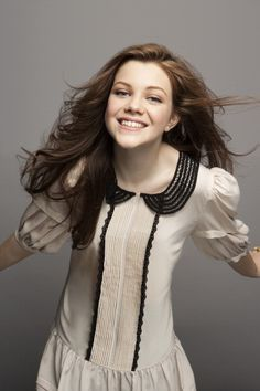 Georgie Henley as lucy pevensie from Narnia