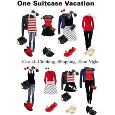 one suitcase vacation