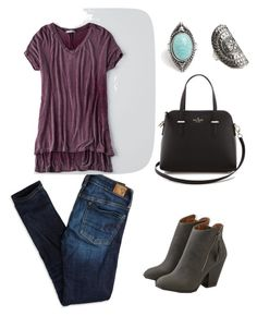 """""""Casual"""" by tanishayarde on Polyvore featuring American Eagle Outfitters and Kate Spade"""