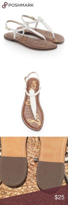 NWOT Sam Edelman Gigi white Sandal size 10 NWOT White sandal size 10. Get ready for vacation. Sam Edelman Shoes Sandals