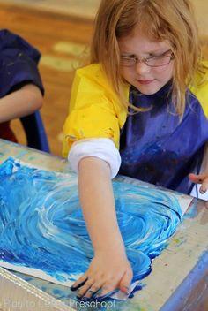Polar Bear Process Art (Play to Learn Preschool) Preschool Art Projects, Art Activities, Preschool Crafts, Preschool Alphabet, Preschool Curriculum, Preschool Learning, Preschool Ideas, Kid Crafts, Kindergarten