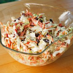 Coleslaw, Cranberries and The one on Pinterest
