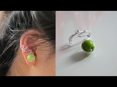 TUTORIEL - D.I.Y. : Easy ear cuff - Une simple bague d'oreille #2 - YouTube