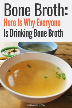 Bone broth contains several essential minerals such as calcium, magnesium, phosphorous, and potassium, all of which are good reasons to take this soup regularly. Health And Nutrition, Health And Wellness, Gut Health, Mental Health, Health Meals, Bone Health, Health Tips, Drinking Bone Broth, Bone Broth Benefits