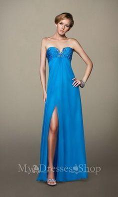 Beaded Heart Shaped Evening Dresses