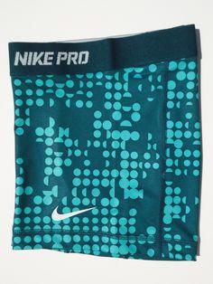 "New XS Nike Pro Core 2 5"" Atomic Teal Print Women's Compression Shorts x SML   eBay"