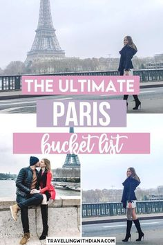The Ultimate Paris Bucket List. Traveling to Paris? 21 Most Epic Things to do in Paris. This is the ultimate Paris bucket list! best places to visit in paris france | what to do in paris| Top tourist attractions in Paris | Pretty places in Paris | Beautiful Paris photo spots | #paris