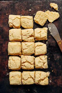 DELICIOUS Vegan Gluten-Free BISCUITS! 9 Ingredients, fluffy, TENDER! 5 ingredients, THICK, flavorful! #biscuits #recipe #vegan #glutenfree #minimalistbaker