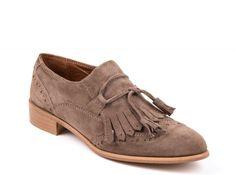 ZILIAN :: Loja Online   sapatos :: NEW COLLECTION :: Sapatos em camurça toupeira