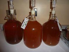 homemade peach wine