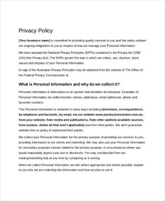 Privacy Policy Template Uk Free  Consignment Agreement Form