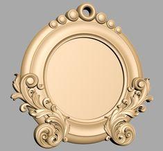 A337 Frame, Mirror, 3DDECOR