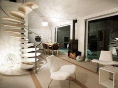 Diseño de Interiores & Arquitectura: Casas Italianas de Madera Prefabricadas con Diseño Minimalista por Subissati.