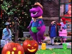 Image result for barney's halloween party