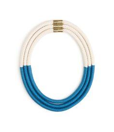 Pharaoh Necklace - Blue | Eleanor Bolton