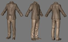new characters that i'll definitely 100% finish... probably - Polycount Forum