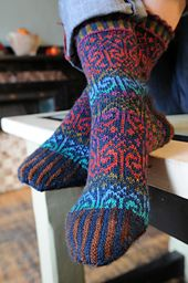 Ravelry: Harika Socks pattern by Stephanie van der Linden