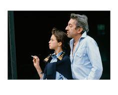 Charlotte e Serge Gainsbourg (©Tony Frank)