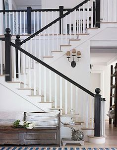 So pretty! How can I make my foyer look like this? Sconces...