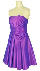 pretty purple dress