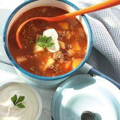 Rotsakssoppa med köttfärs | Recept | ViktVäktarna