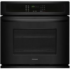 Frigidaire Self-Cleaning Single Electric Wall Oven (Black) (Common: 30-In; Actual 30-In) Ffew3026tb