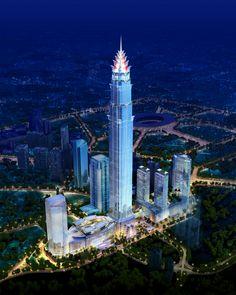 JAKARTA   Signature Tower Jakarta   638m