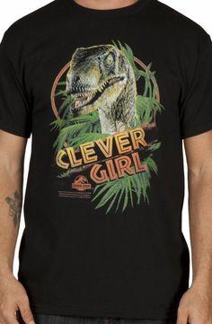 Clever Girl Jurassic Park Shirt: Jurassic Park Mens T-shirt