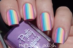 31DC2016 - Honour nails you love ~ prompt last day of 31DC Nail-Art by More Nail Polish ♥•♥•♥