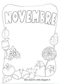 maestra Nella: i mesi dell'anno