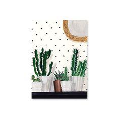carte-simple-cactus-et-pois
