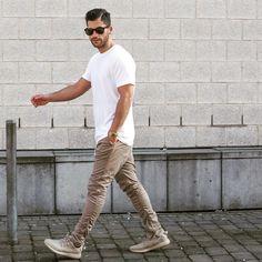 """RULE NO. 1 look cool - be cool. SNAPCHAT: kosta.williams Shirt: @uniqlo Pants: @hm Shoes: @adidasoriginals ___________ #kostawilliams"""