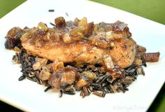 Apple Mustard Chicken with Dates
