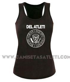 "Camiseta ""Ramones- Atleti ""nadadora"