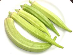Seed pods of Abelmoschus esculentus , Okra, Lady's finger. Trái Đậu Bắp ... | Flickr - Photo Sharing!