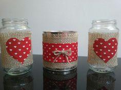 Tin Can Crafts, Diy Home Crafts, Jar Crafts, Craft Stick Crafts, Mason Jar Gifts, Mason Jar Diy, Diy Para A Casa, Diy Cardboard Furniture, Art And Hobby