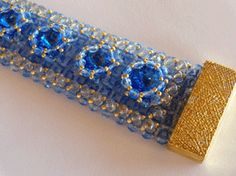 Right Angle Weave Bracelet from Daily Beading Blogs