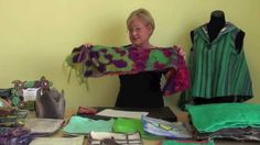 The Basics of artfelt  In this video Karin Skacel demonstrates the basics of the artfelt felting process and shows many of the amazing things that can be made with the artfelt technique.