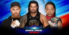 Watch Wrestling Online - Watch WWE Raw , Watch Smackdown Live and Events Highlights Watch Wrestling, Wrestling Online, Shane Mcmahon, Kevin Owens, Wwe Champions, Roman Reigns, Poker, Victorious, Superstar