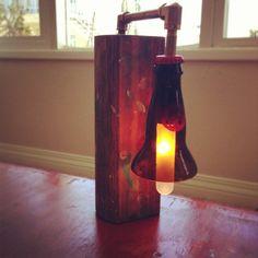 ea67cd5343 Beer Bottle Lamp Bottle Lamps, Plumbing Pipe, Wine Bottles, Beer Bottle,  Product