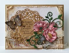 Our Daily Bread Designs Stamp sets: Never Forgotten, Trois Jolies Papillons, Fragrance, Our Daily Bread Designs Shabby Rose Paper Collectios, Our Daily Bread Designs Custom Dies: Fancy Foliage, Trois Papillons, Beautiful Borders, Doily