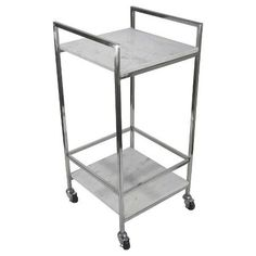 We Must Have Everything From Target's Holiday Collection This INSTANT #refinery29  http://www.refinery29.com/2016/12/132174/holiday-target-home-decor-collection#slide-45  Threshold Marble and Chrome Bar Cart, $90.99, available at Target....