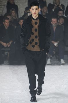 Sfilata Ami Milano Moda Uomo Autunno Inverno 2014-15 - Vogue