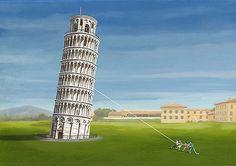 Pisa by Steve Ash