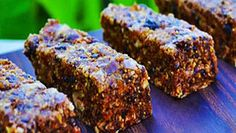 FullyRaw Energy Bars with Cherry Drizzle