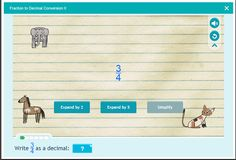 Number and Operations - Fractions - Decimals for grade 5