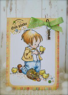 Synnøves Papirverksted: Sweet card for Easter